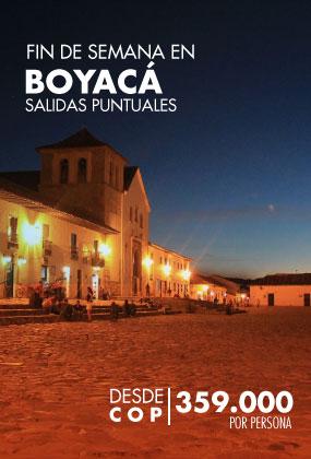 Fin de semana en Boyacá - Rokatur - Salidas puntuales